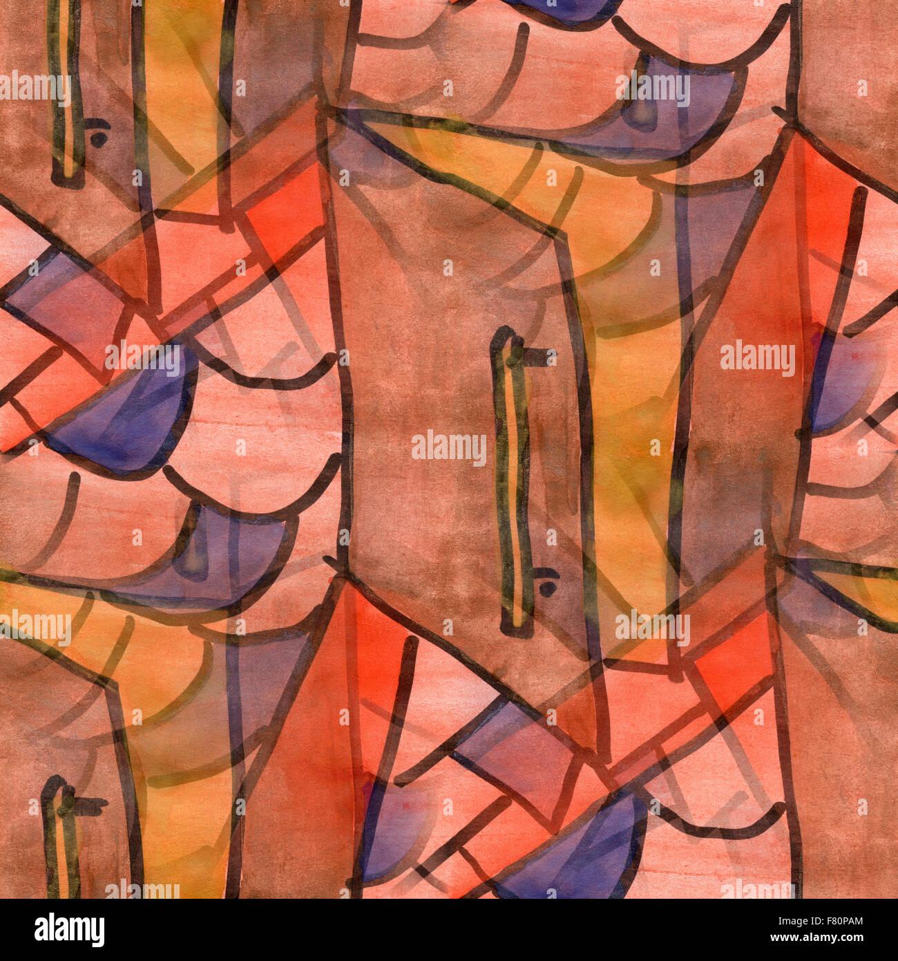 Wunderbar Kubismus Künstler Ideen Von Rosa Tür Palette Grafik Bild Nahtlose Textur