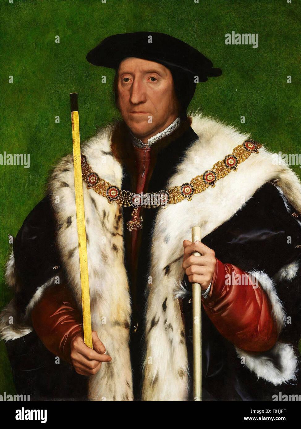 Hans Holbein der jüngere - Thomas Howard, 3. Herzog von Norfolk Stockfoto