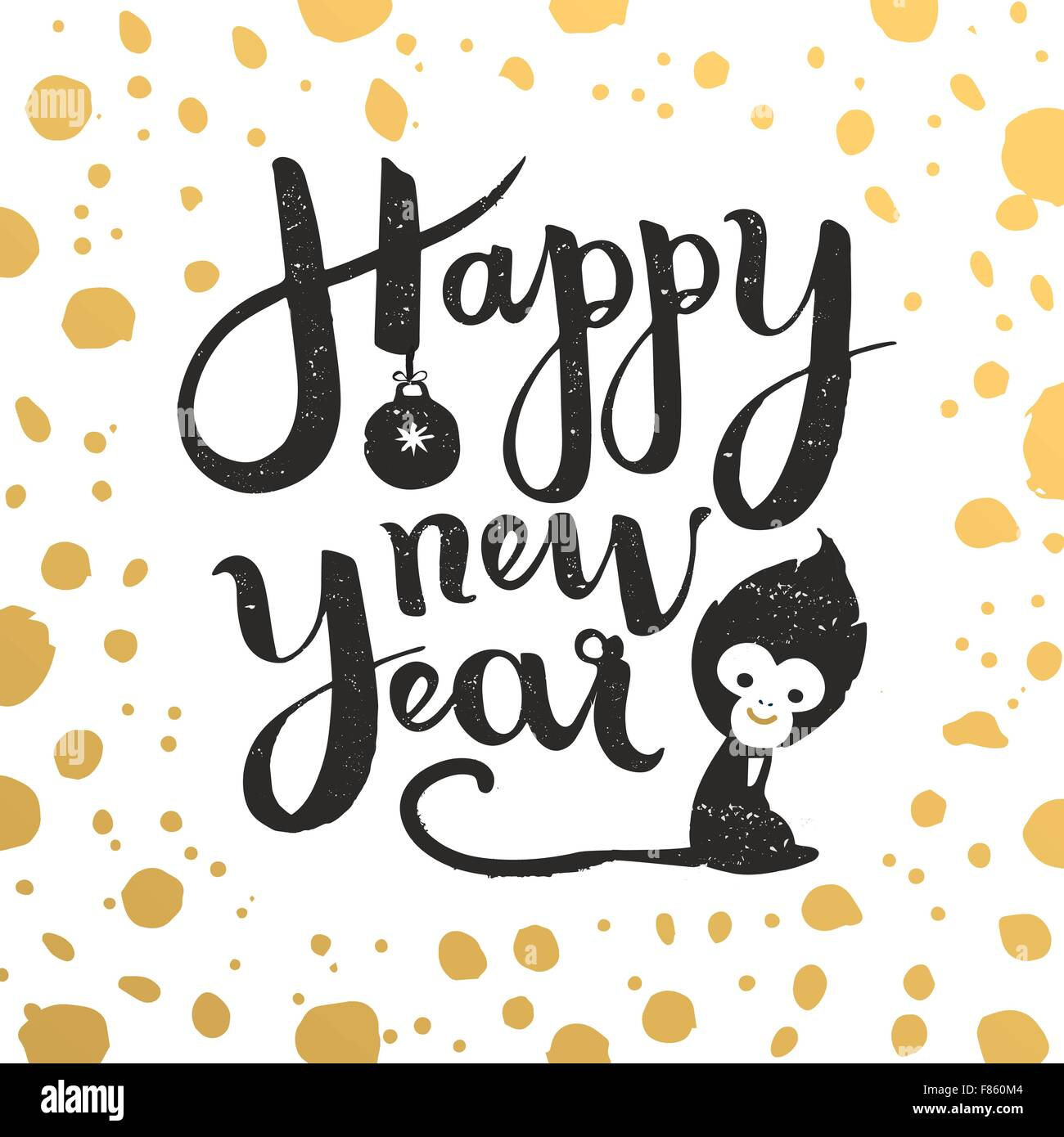 New Year Card Wishes Stockfotos & New Year Card Wishes Bilder - Alamy