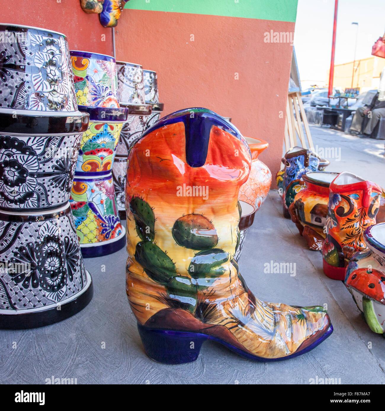 Mexiko Decke: Mexican Boots Stockfotos & Mexican Boots Bilder