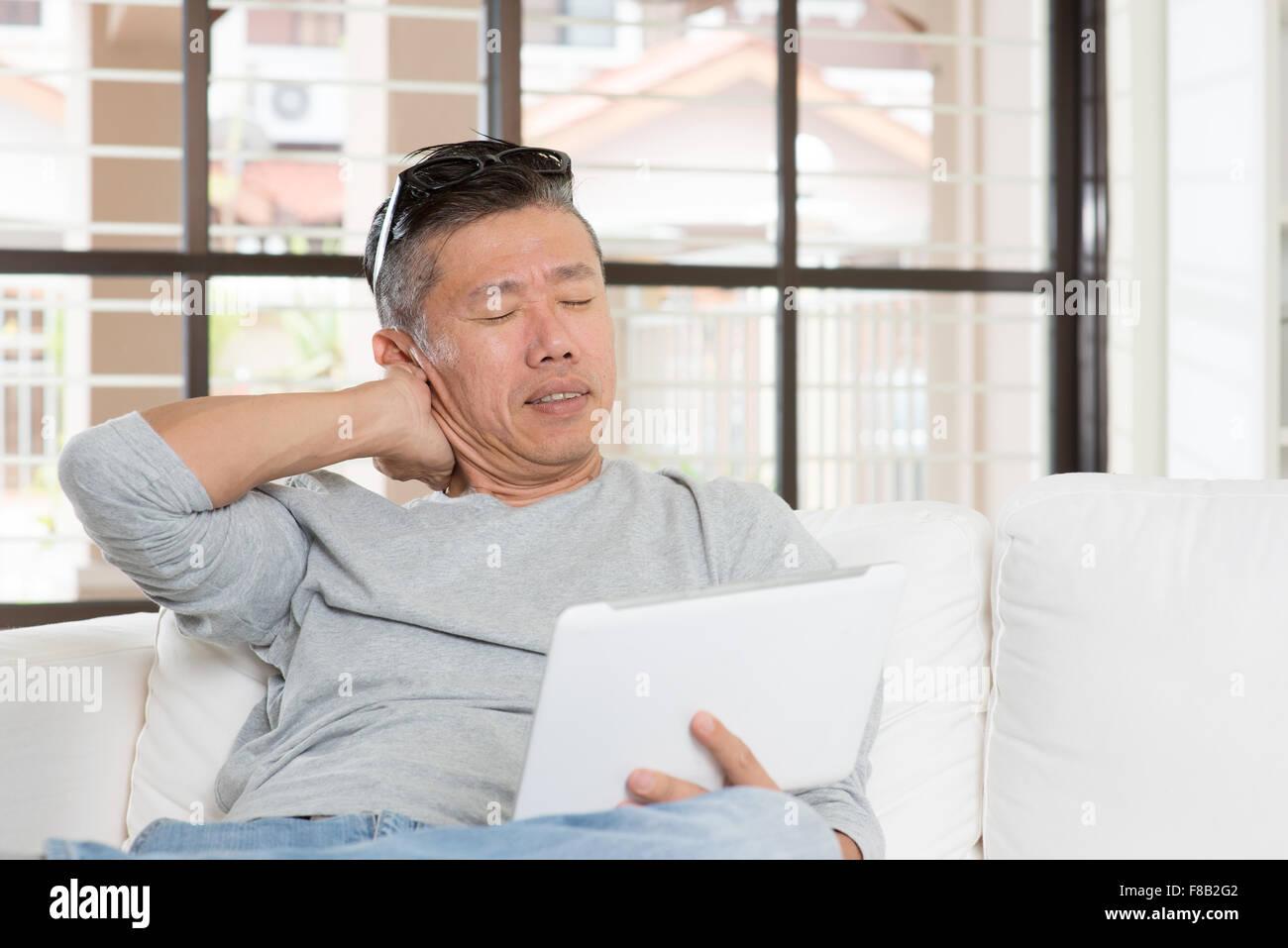 Asiatischer Kerl der reifen Frauen