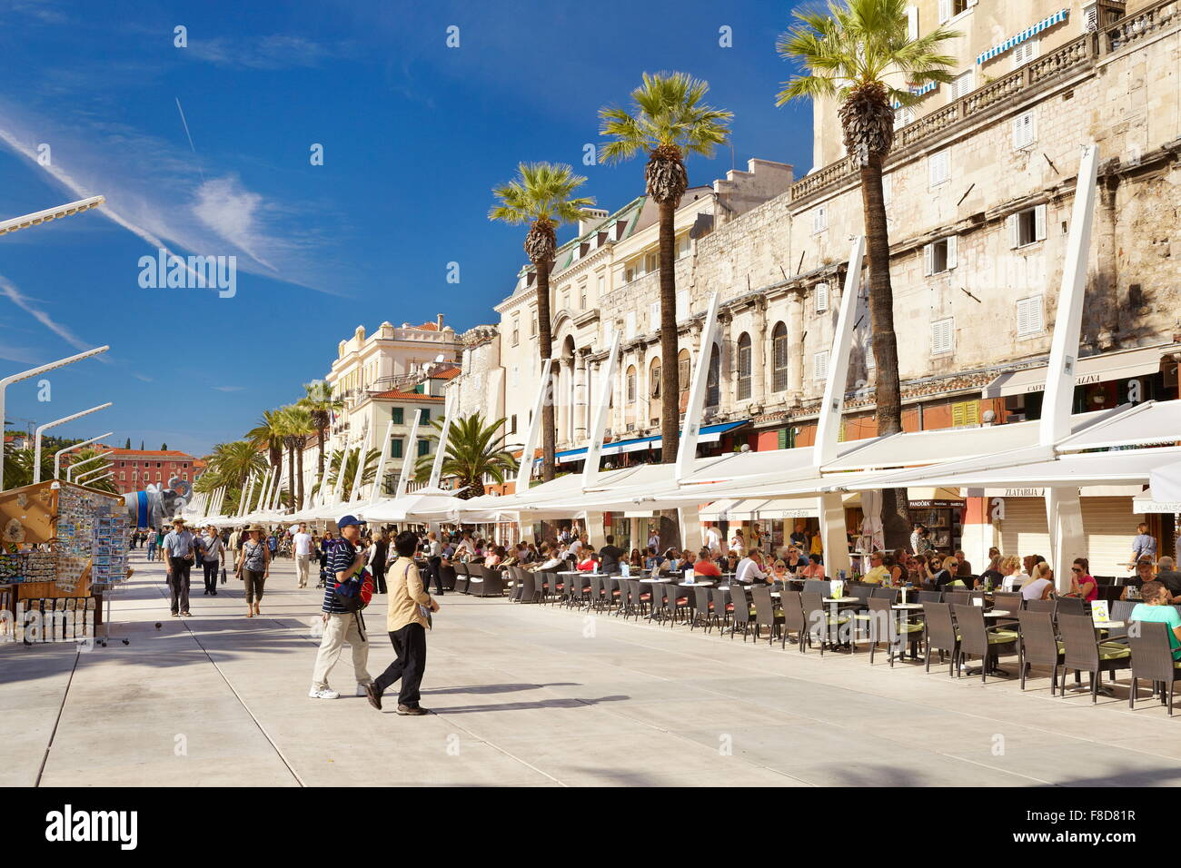 Split, Kroatien, Europa Stockbild