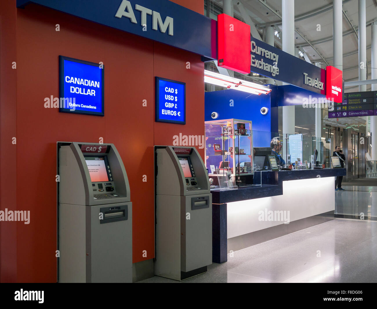 Airport atm stockfotos airport atm bilder alamy - Gatwick airport bureau de change ...
