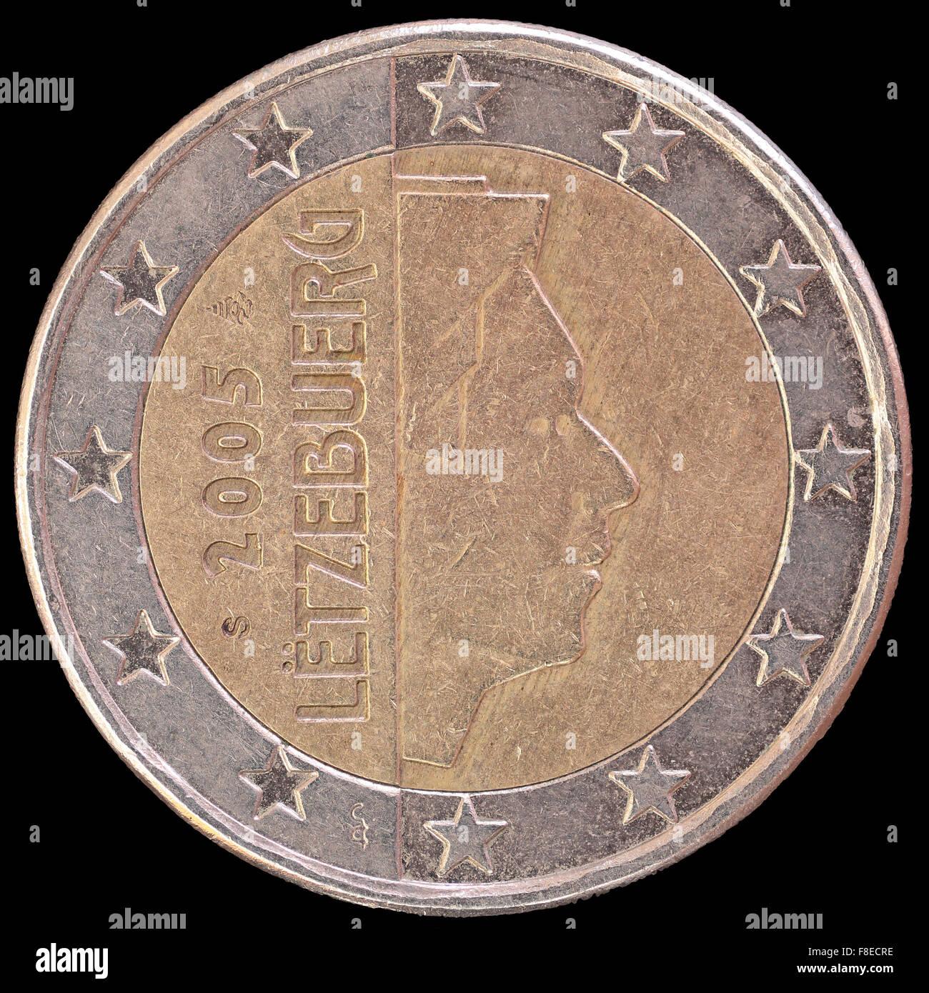 Luxembourg Euro Coin Stockfotos Luxembourg Euro Coin Bilder Alamy