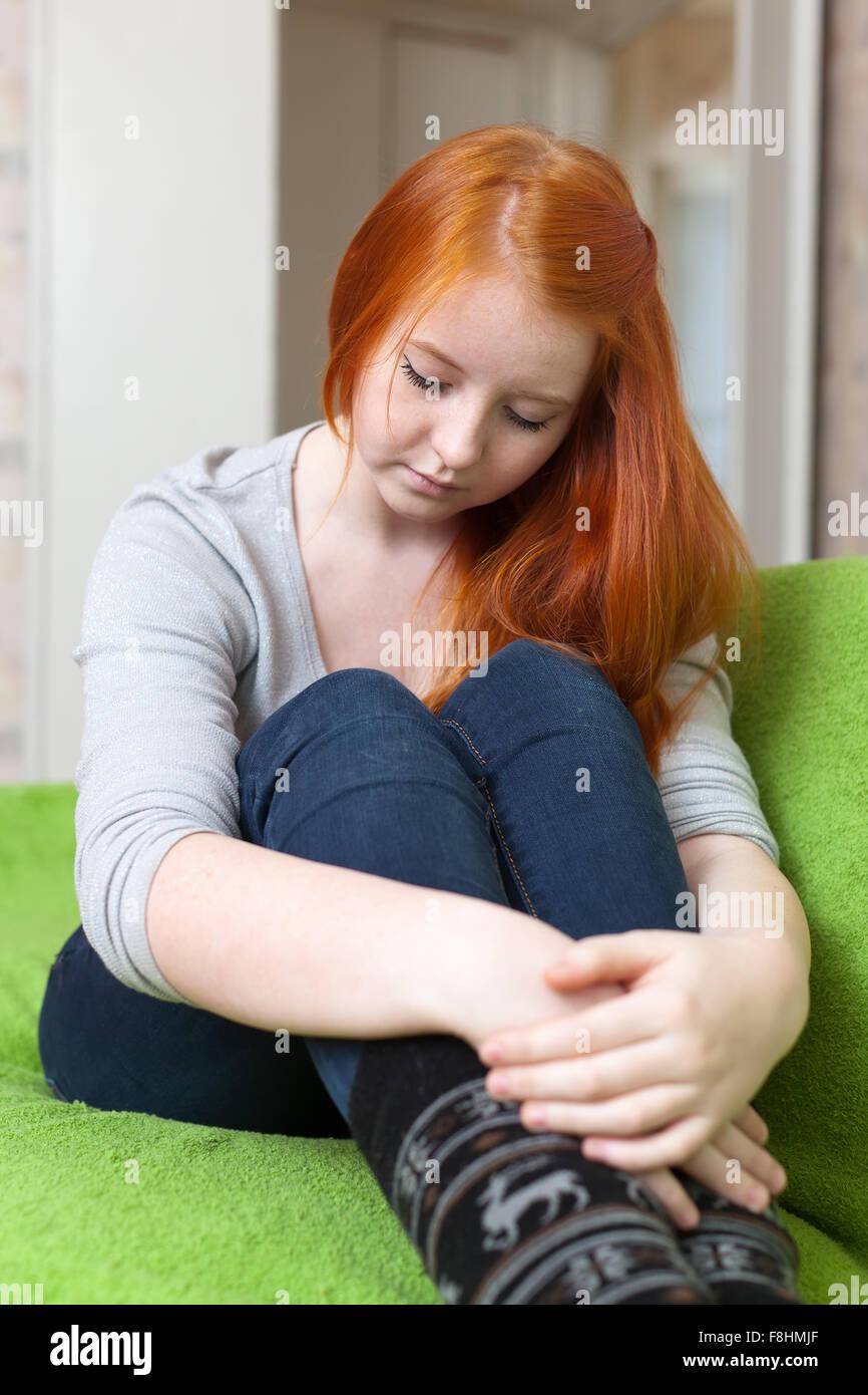 rothaarige teenager