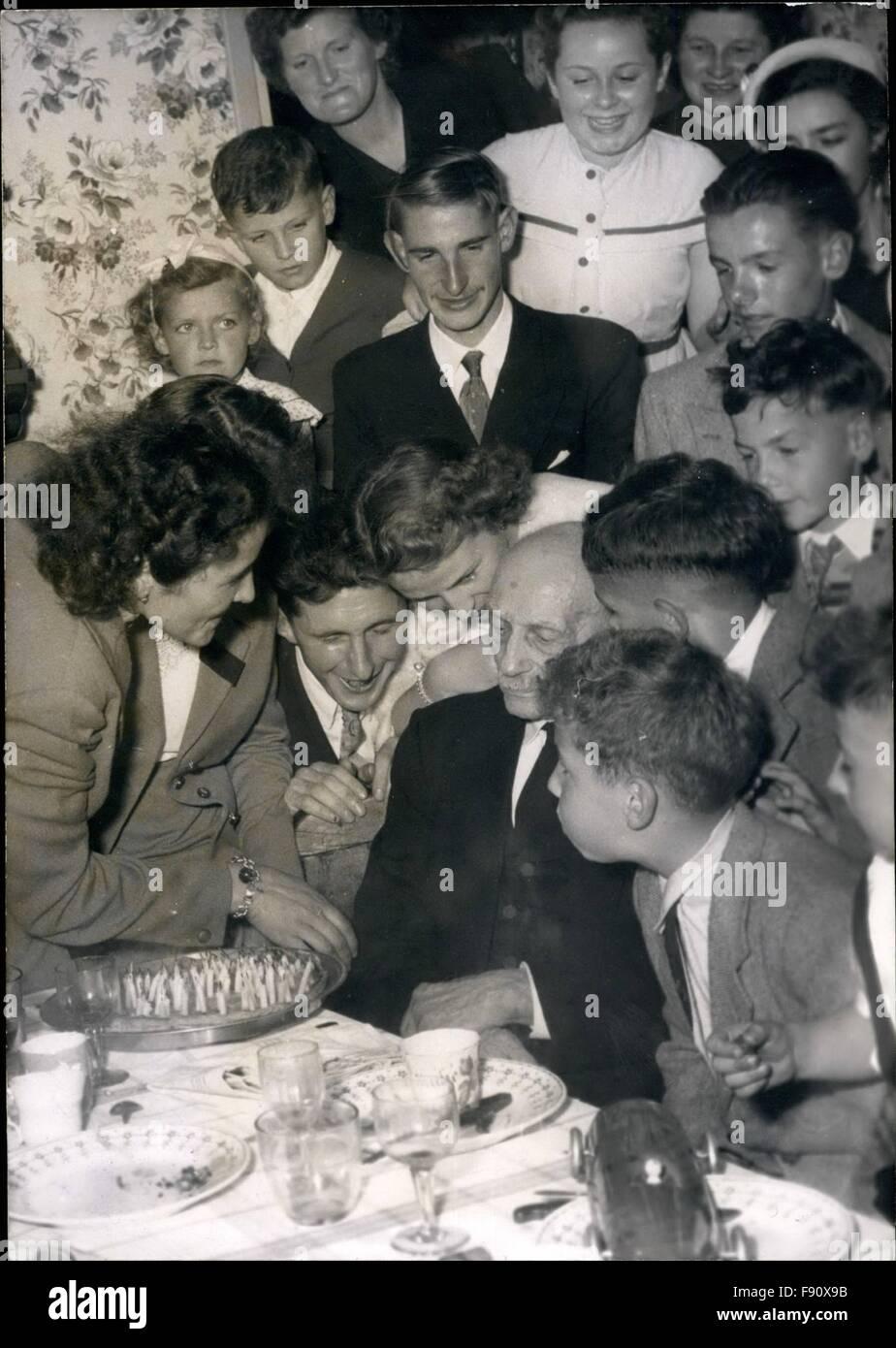 1955 Der Alteste Mann In Frankreich Herr Seraphin Pruvost