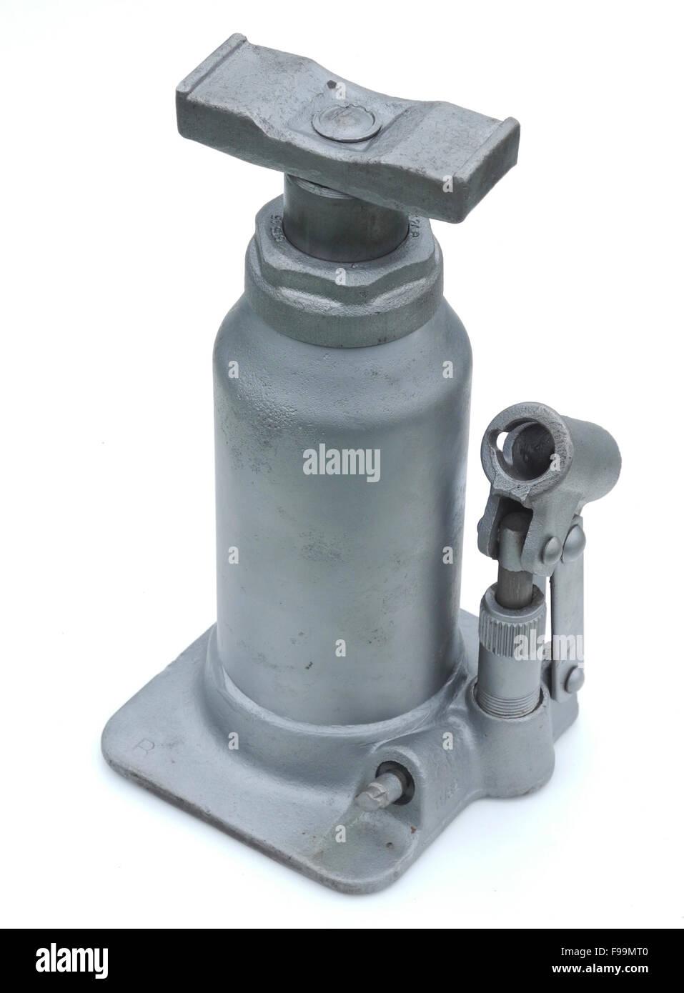 Shelley hydraulische Vintage Wagenheber Stockbild