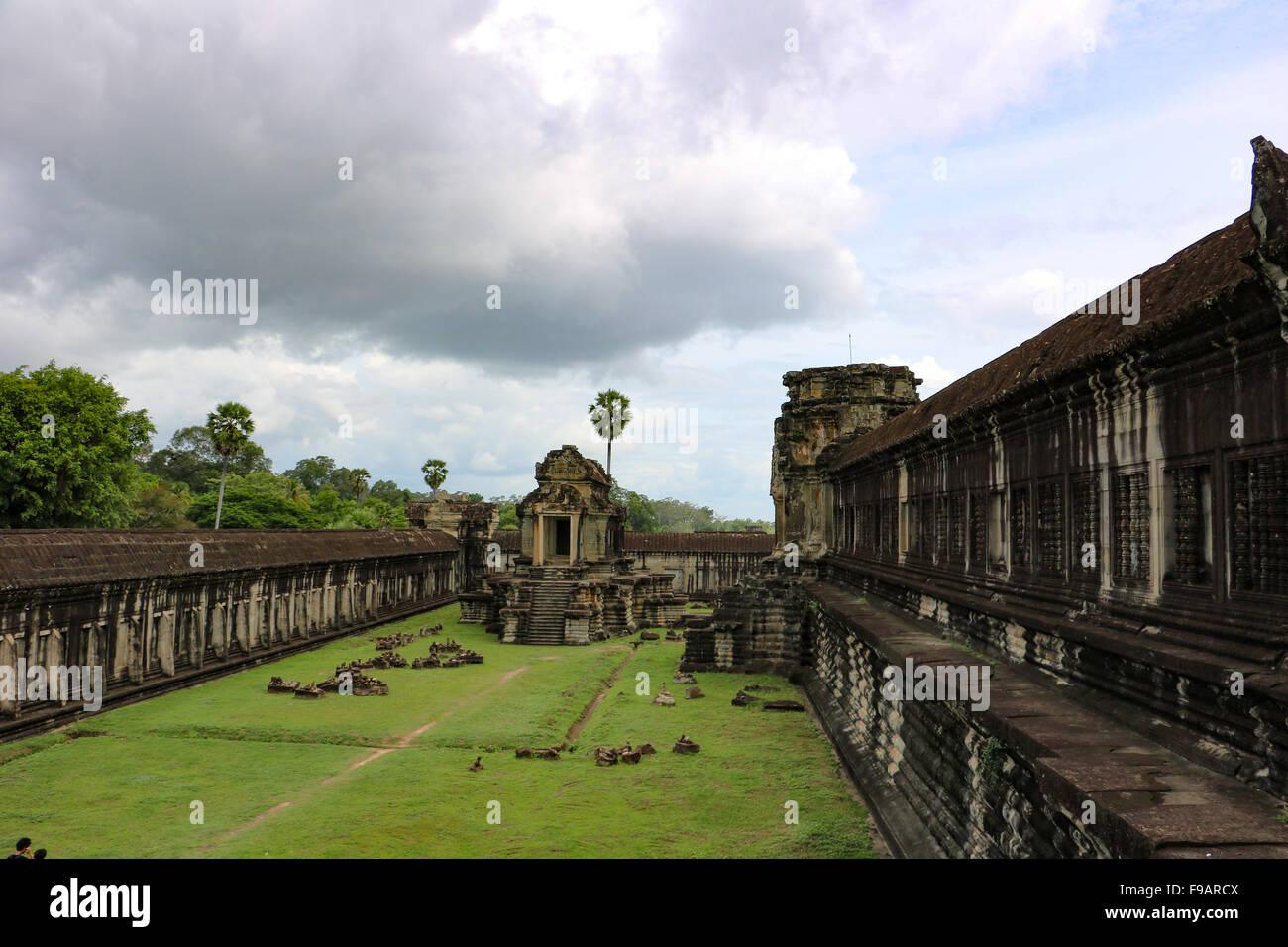 Angkor Wat, Kambodscha. Stockbild