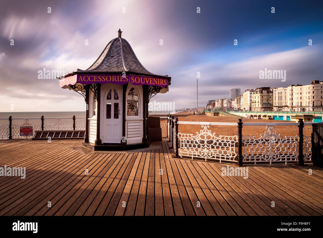 Brighton Pier, Brighton, Sussex, UK Stockbild