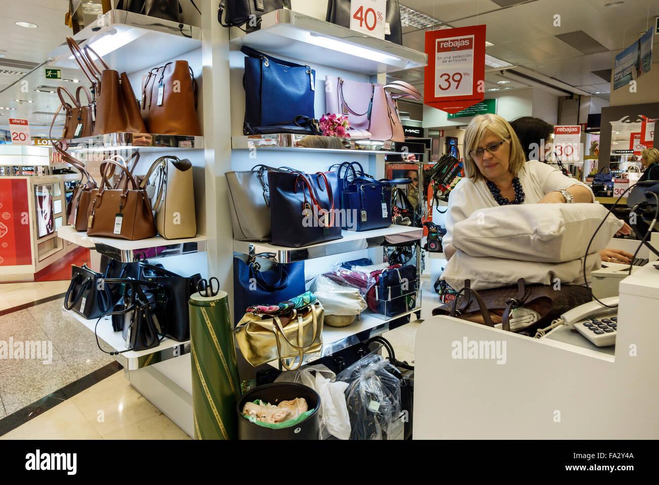 17ffab120bdb49 Spanien Europa Spanisch Spanisch Madrid Moncloa-Aravaca Calle De La  Princesa El Corte Ingles Kaufhaus