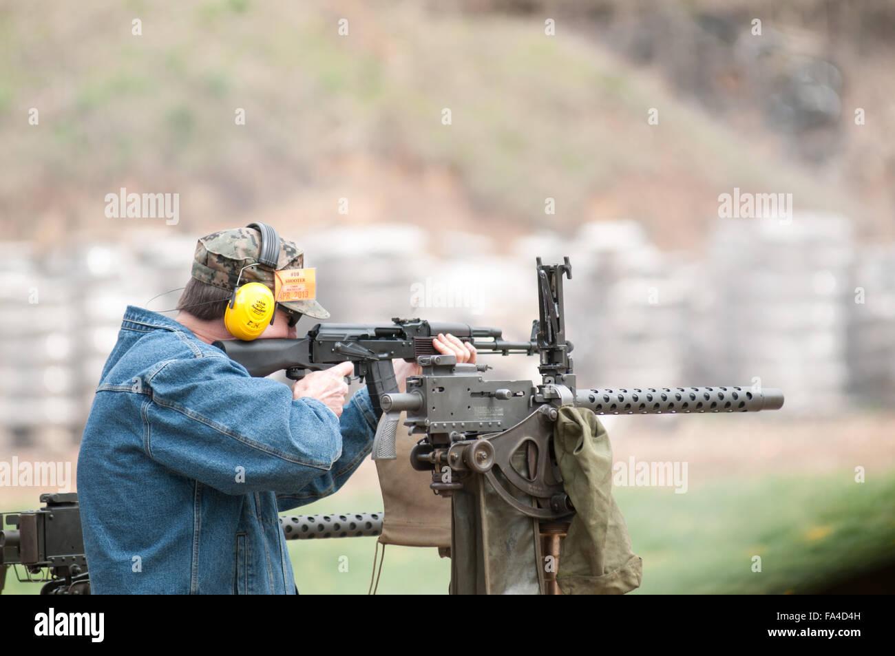 Das Recht der Bürger zu halten und Waffen tragen. Stockbild