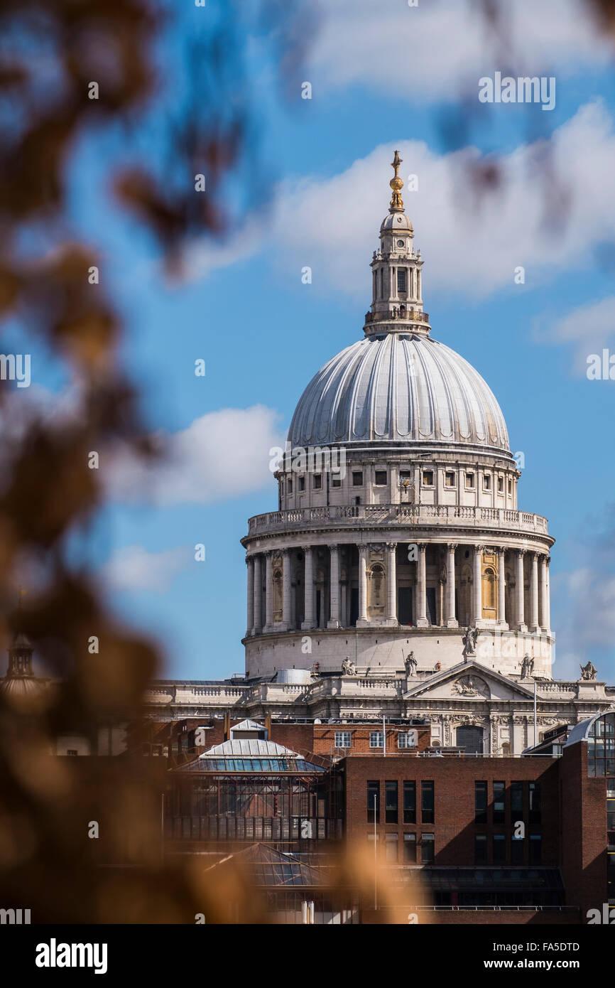 St. Paul Kathedrale, London, England, U.K Stockbild