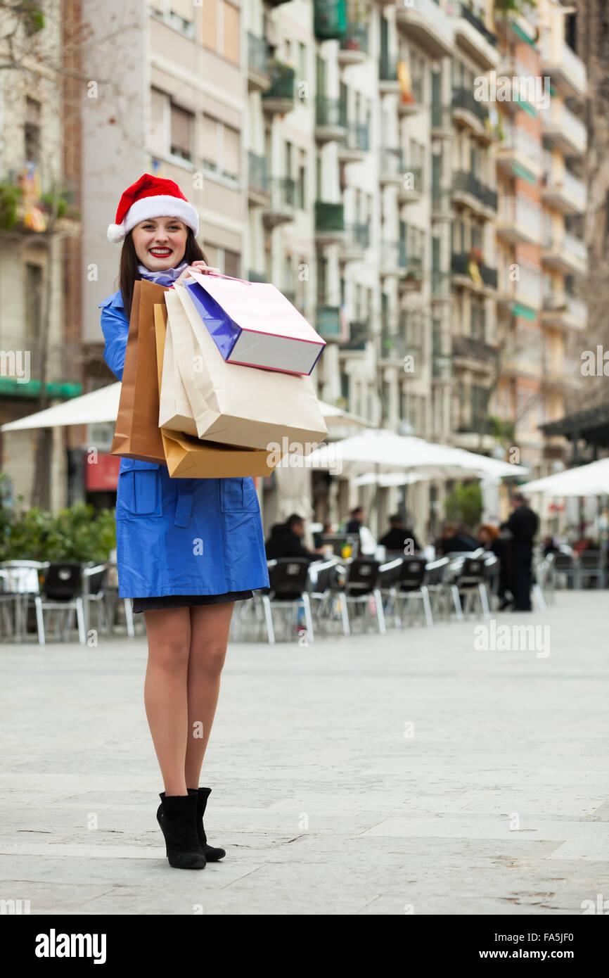 Weihnachtshopping Stockfotos & Weihnachtshopping Bilder - Alamy