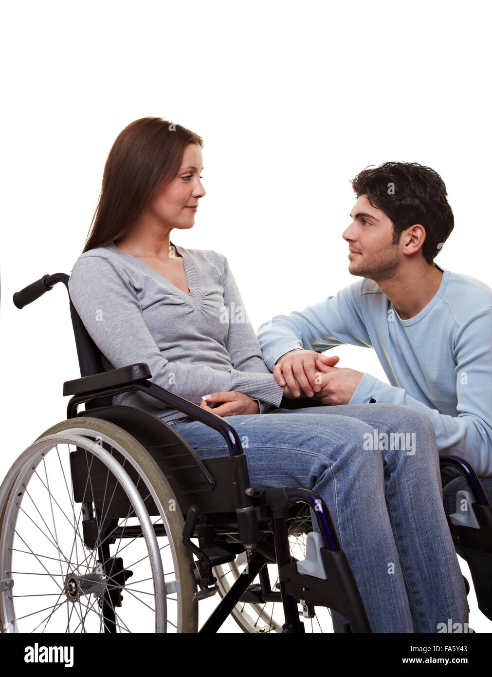 woman wheelchair car stockfotos woman wheelchair car bilder alamy. Black Bedroom Furniture Sets. Home Design Ideas