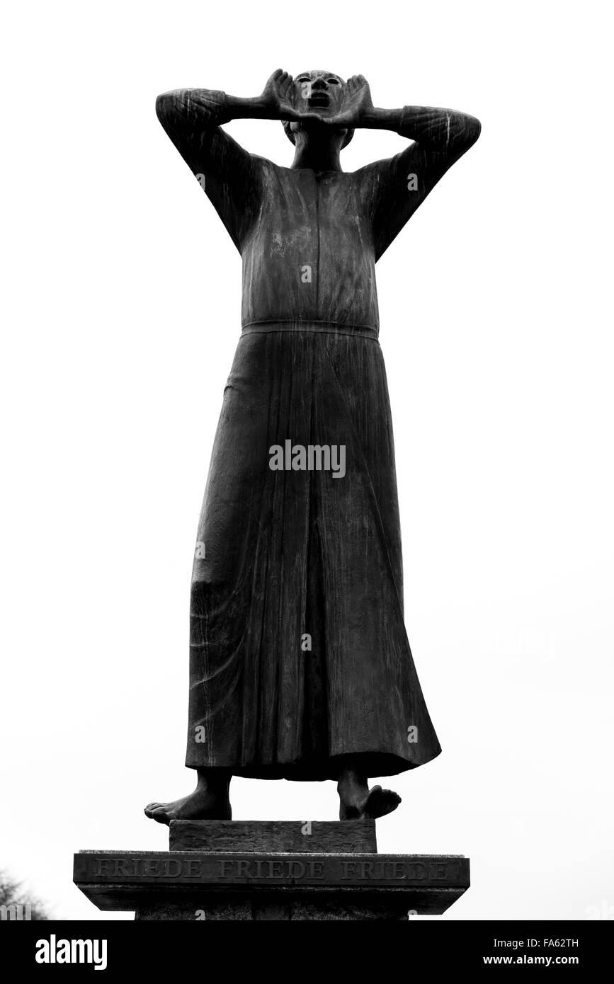 Der Rufer der Aufrufer die Ausrufer von Gerhard Marks 1966 Pariser Platz, Berlin Stockbild