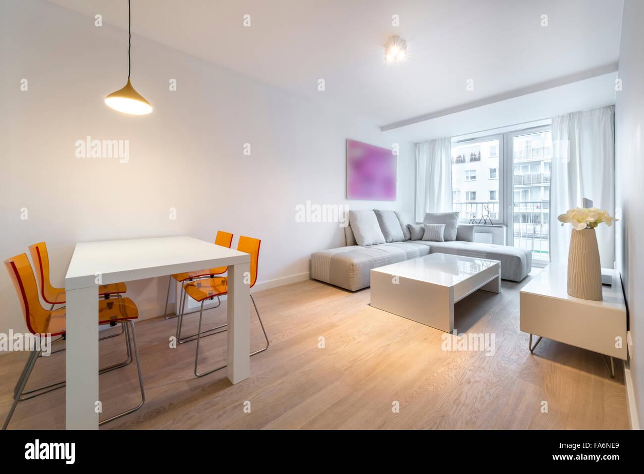 Moderne Innenarchitektur Wohnzimmer