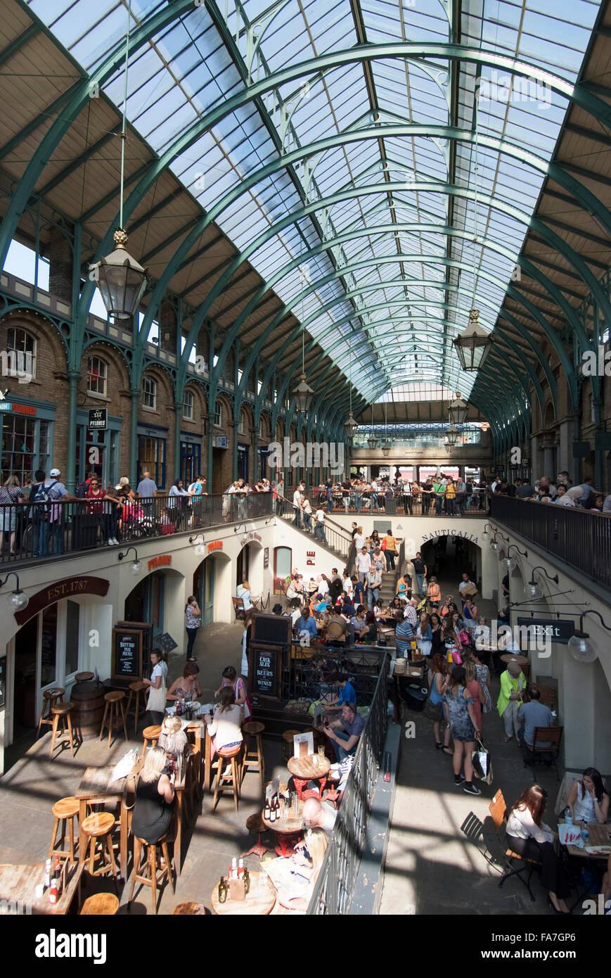 Covent Garden Market. Die historischen bedeckt Marktgebäude mit ...