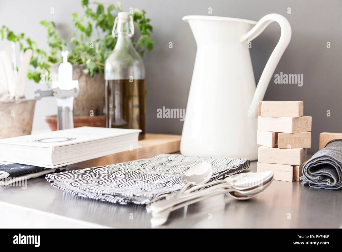 Küche Wagen ein Haus verbindet modernen minimalistischen Stil mit ...