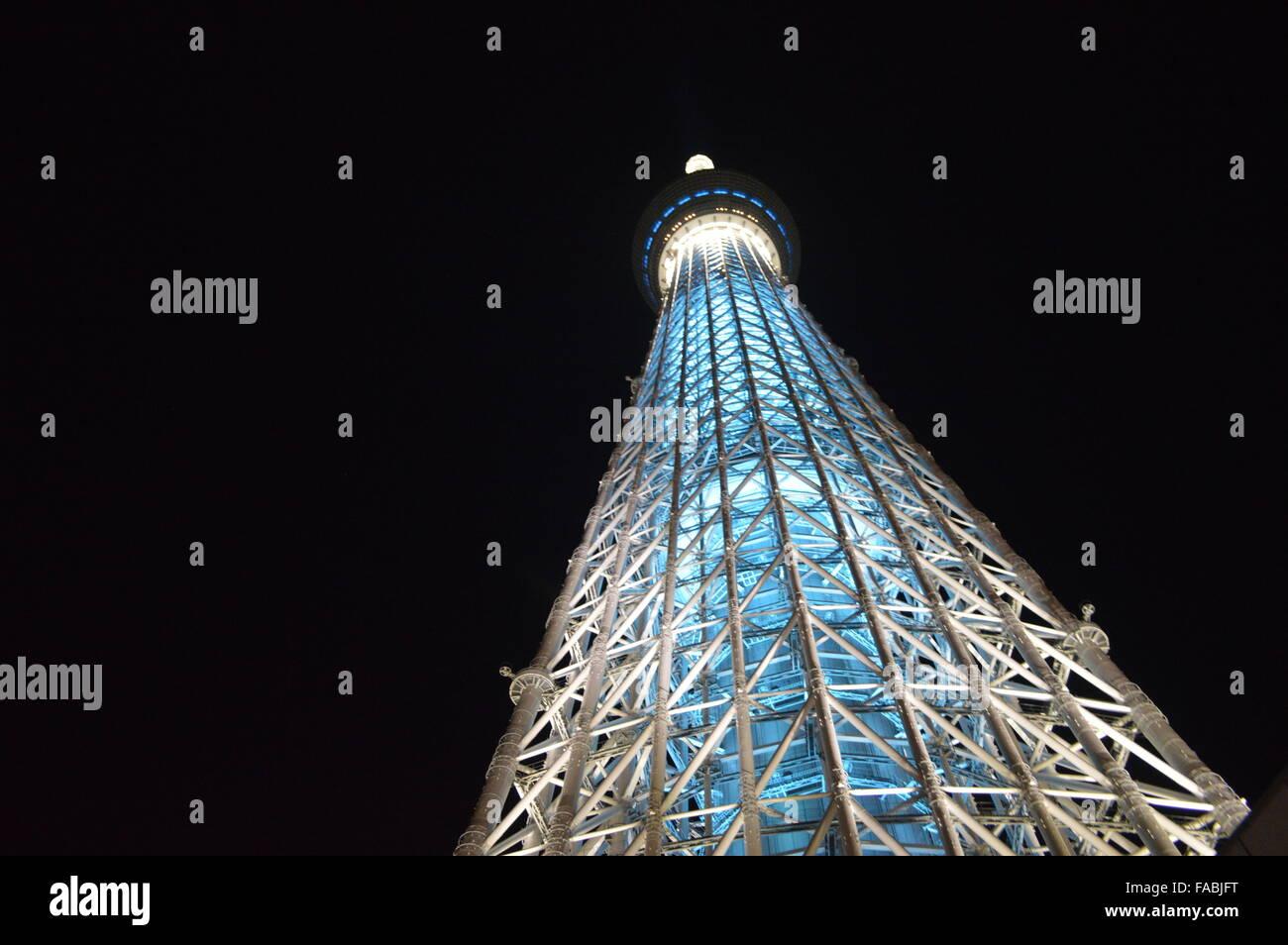 Tokyo Sky Tree Stockbild