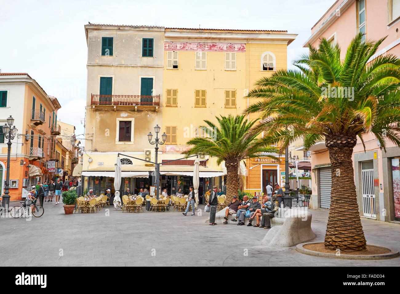 Insel La Maddalena, Sardinien, Italien Stockbild