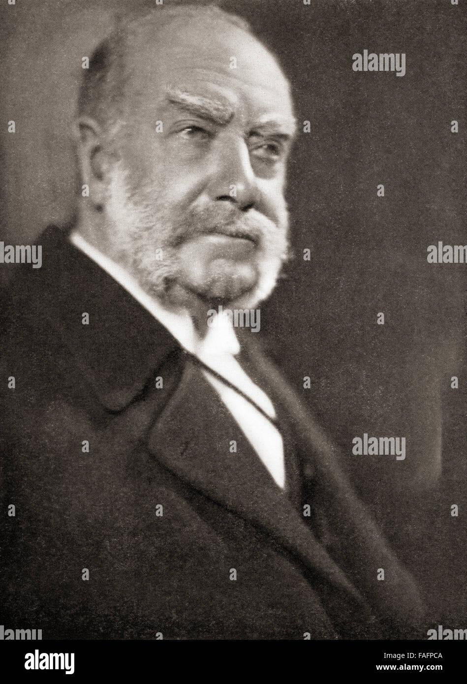 Sir Alfred Fernandez Schafgarbe, 1. Baronet von Homestead, 1842-1932.  Britische Werft, die die Schiffbau-Dynastie, Stockbild