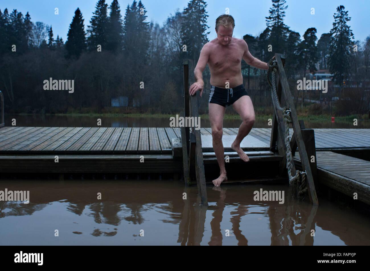 finland winter sauna stockfotos finland winter sauna. Black Bedroom Furniture Sets. Home Design Ideas