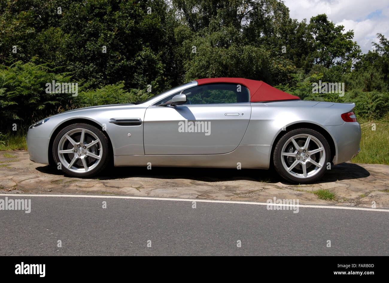 2007 Aston Martin Vantage Super Cabrio Stockfotografie Alamy