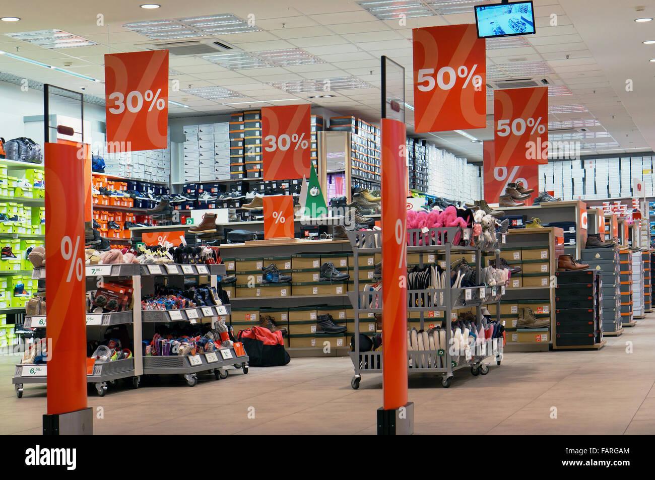 Deichmann Field's Shopping mall Shoes København S