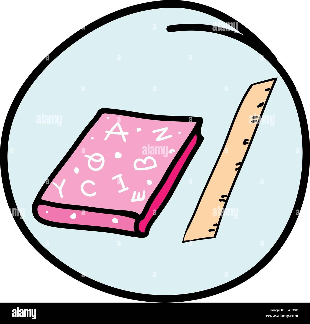 c8.alamy.com/compde/fat39k/burobedarf-eine-cartoon...