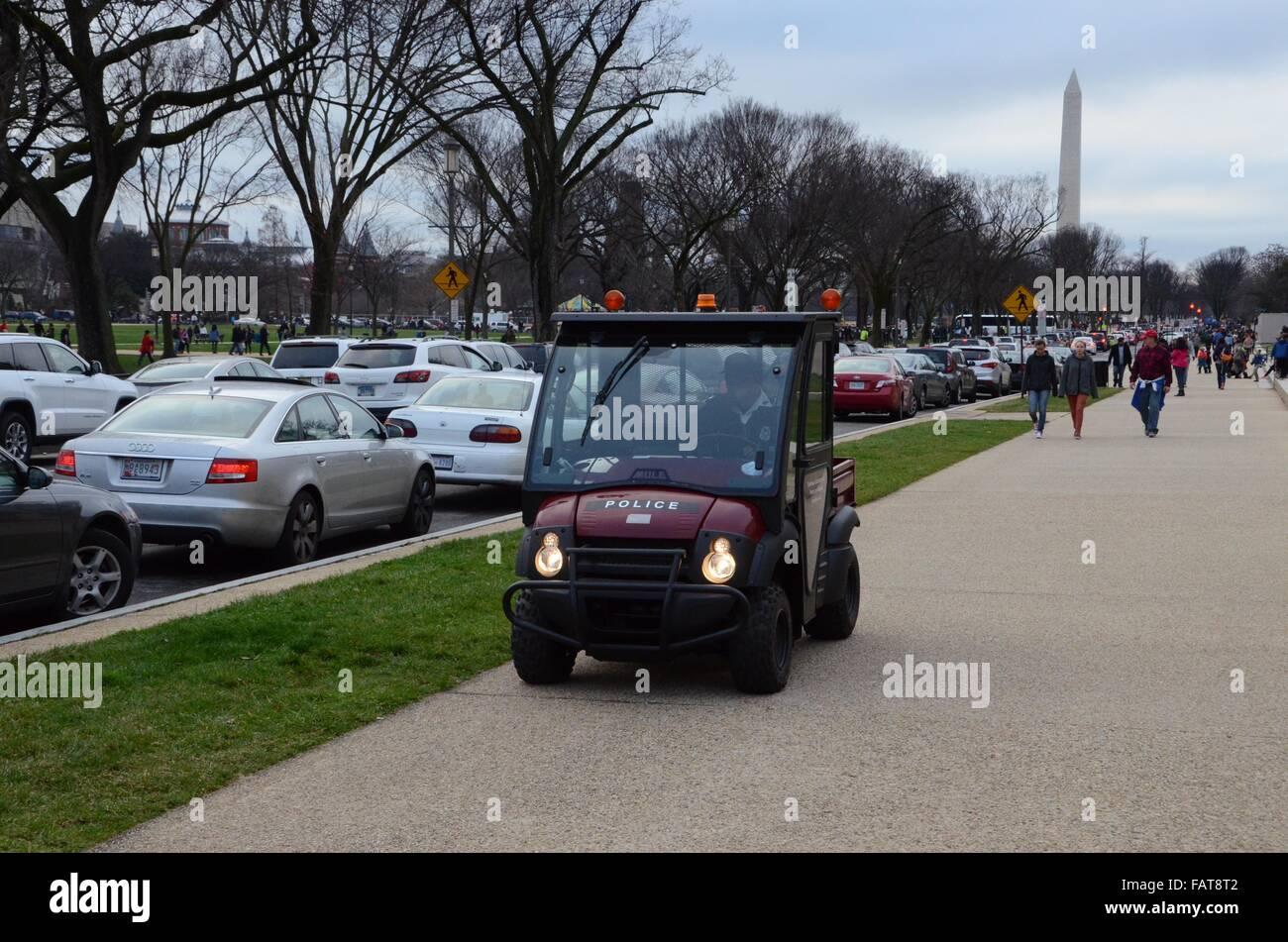Polizei Golf Cart Washington Dc Stockfoto Bild 92732194 Alamy