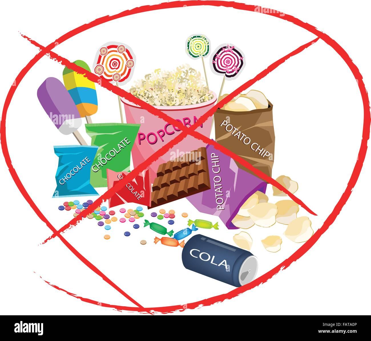 Kein Fast Food Essen