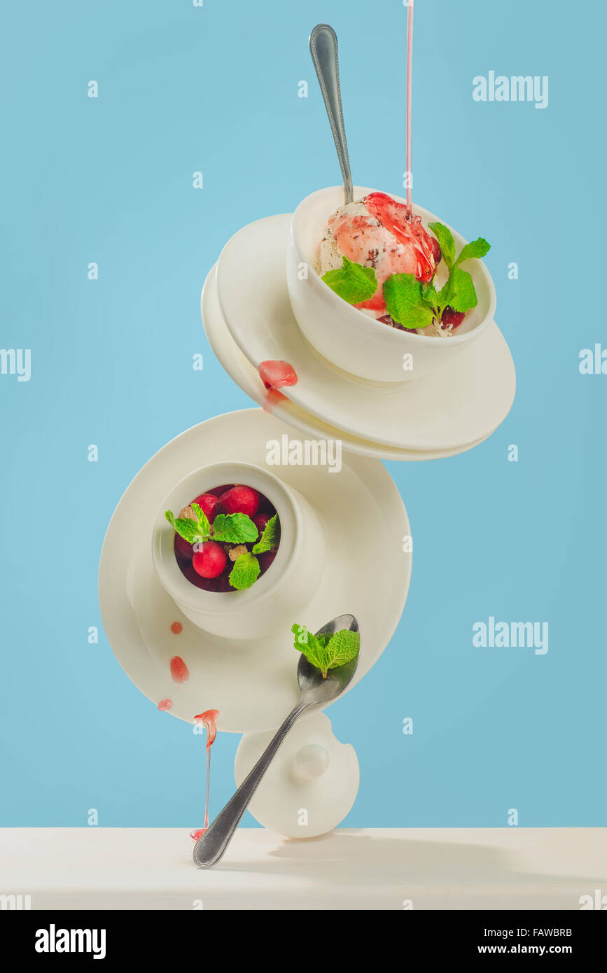 Cranberry Sirup Stockbild