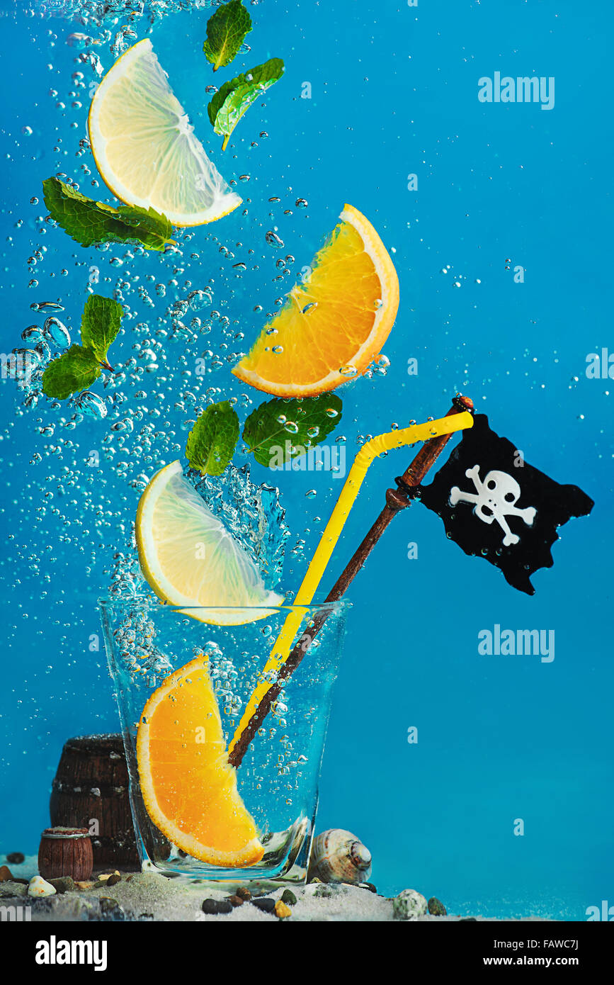 Piraten-Limonade Stockfoto