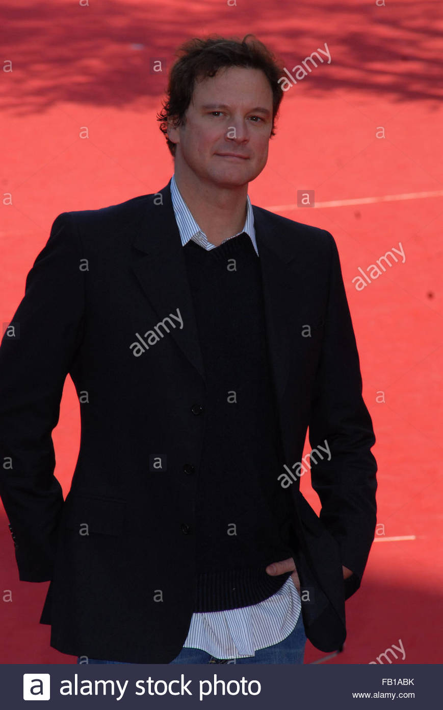 Colin firth Stockbild