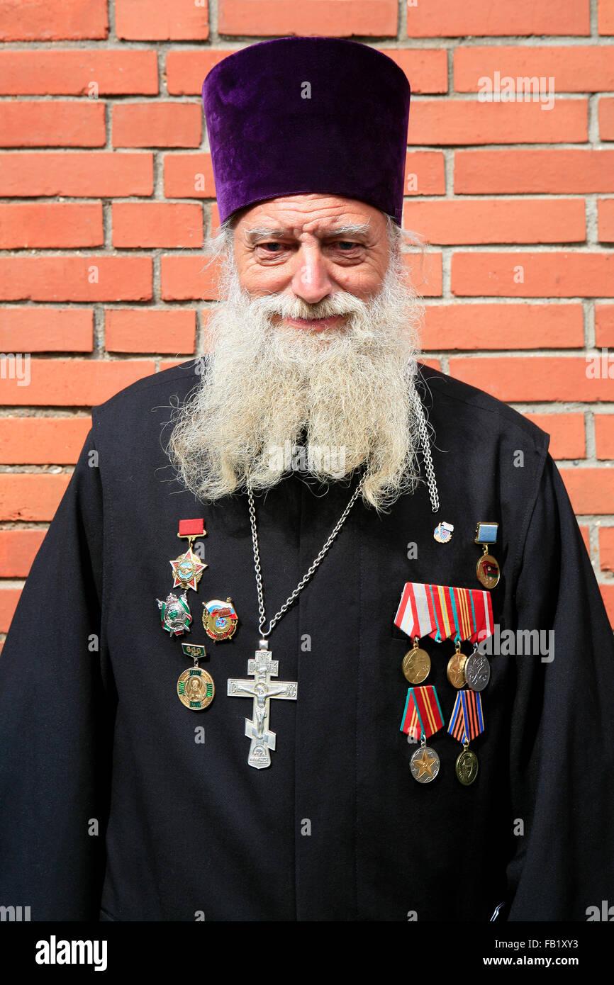 Russisch Orthodox Priester