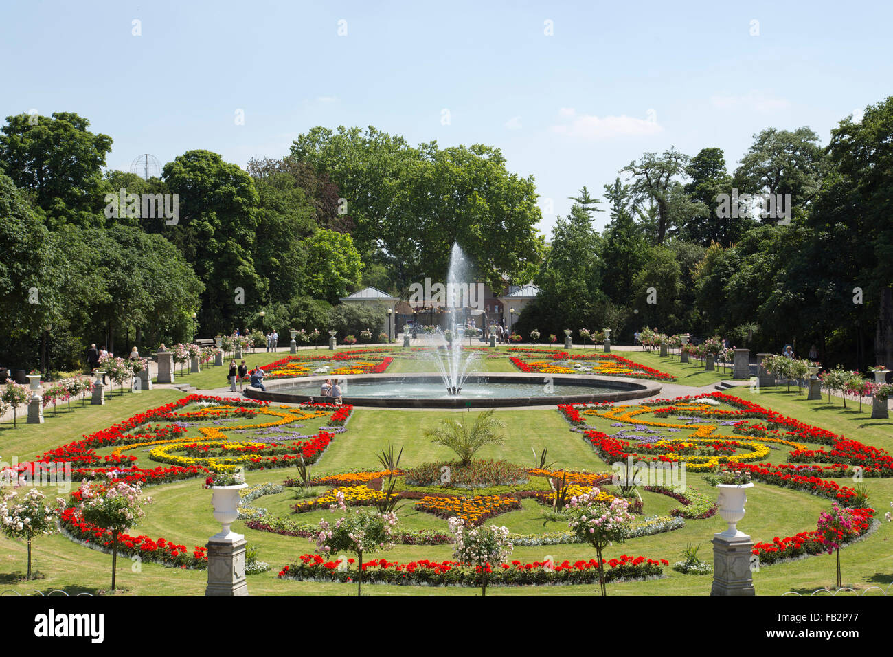 Köln, Flora Und Botanischer Garten Stockfoto, Bild