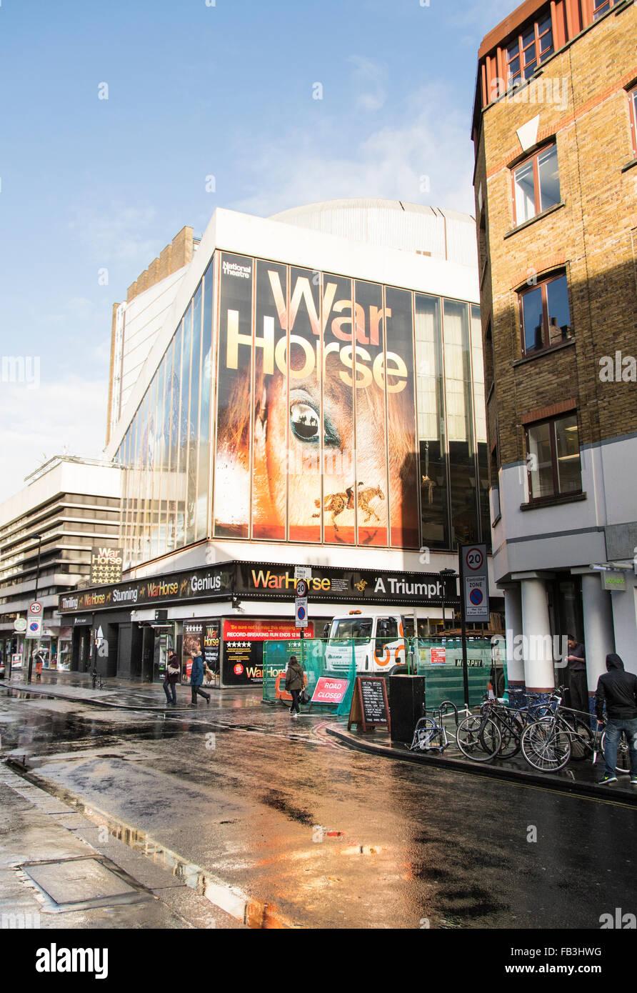 War Horse im New London Theatre Drury Lane, London, Großbritannien Stockbild