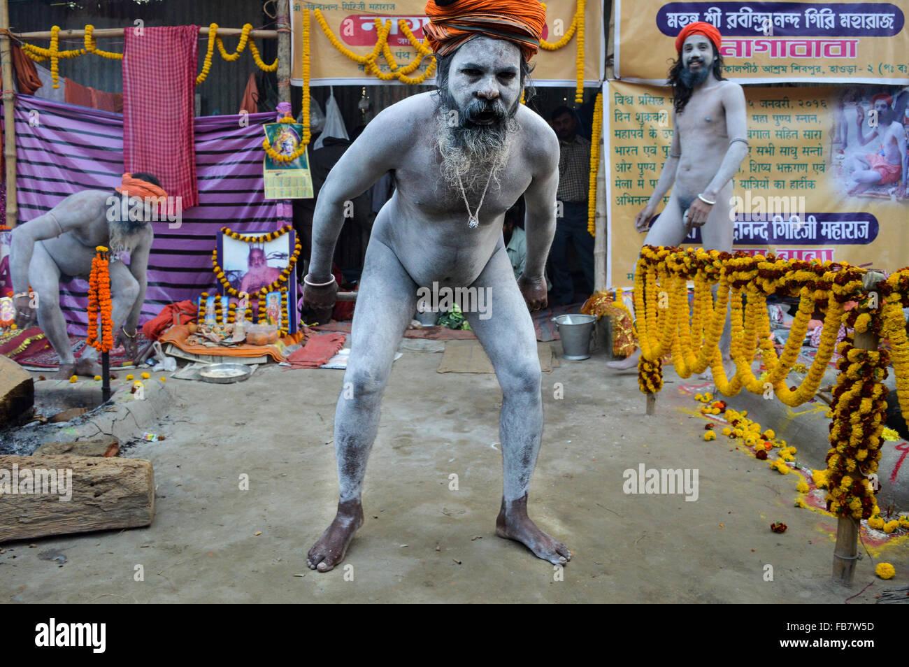 Nackte Inder