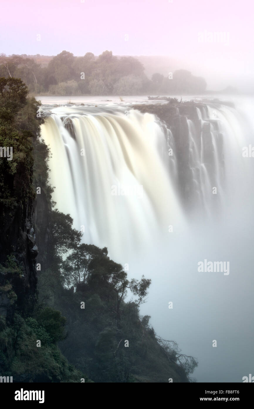 Viktoriafälle, Simbabwe Stockfoto