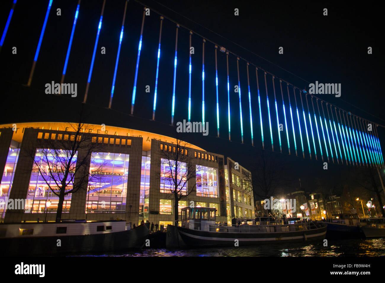 Licht Tour Amsterdam : Licht und wasser farben festival  in amsterdam