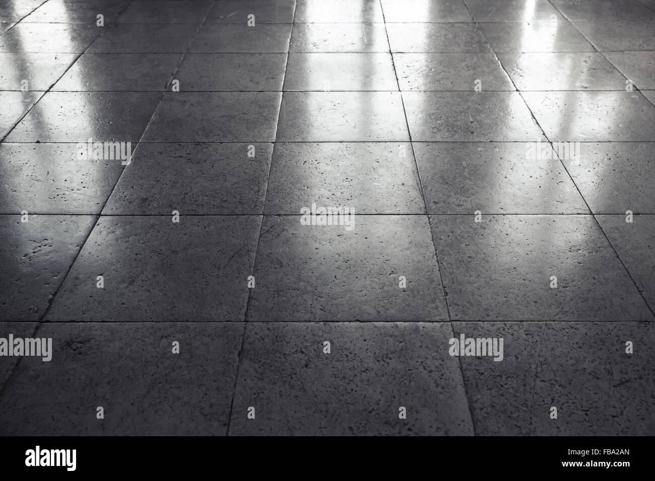 Glänzend Grauen Steinboden Fliesen Hintergrundtextur Mit - Graue glänzende fliesen