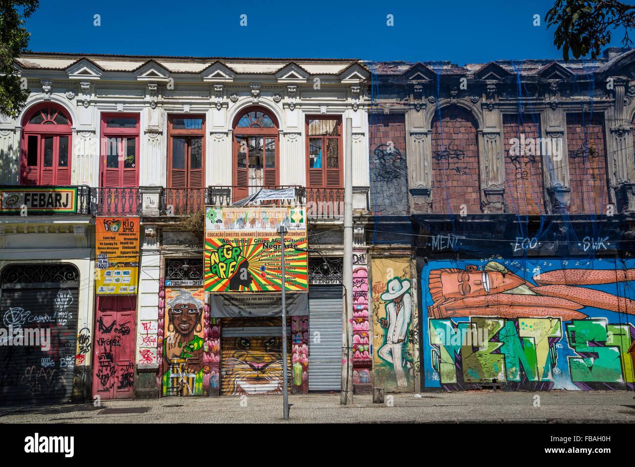 brazil rio de janeiro mural stockfotos brazil rio de janeiro mural bilder alamy. Black Bedroom Furniture Sets. Home Design Ideas