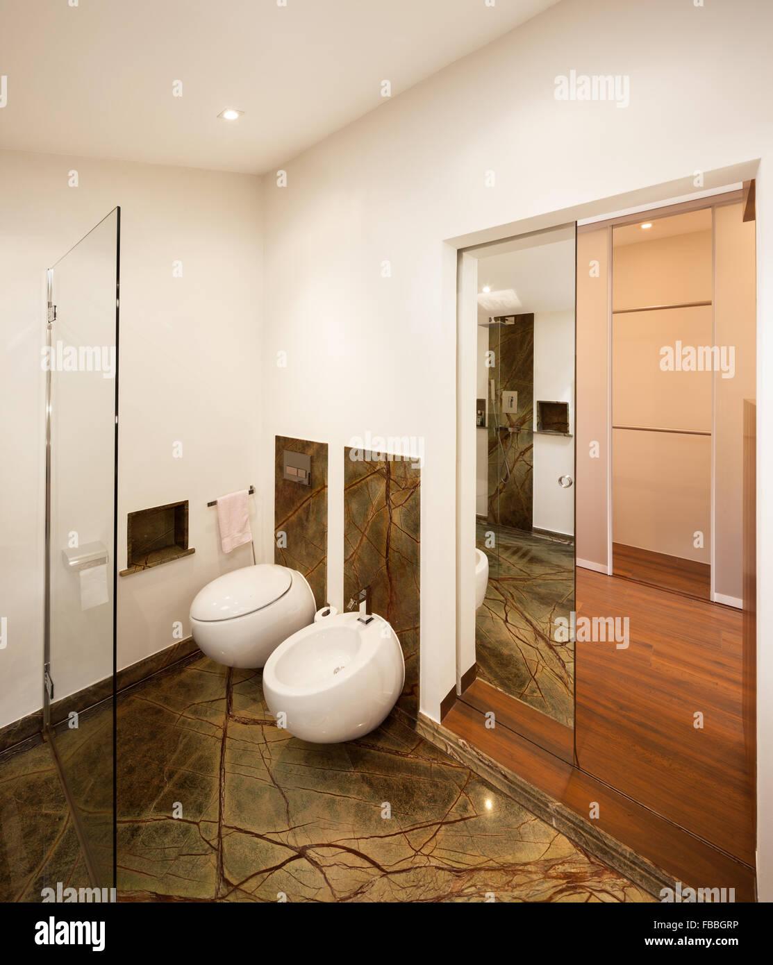 Innenarchitektur Badezimmer | Innenarchitektur Badezimmer Aus Marmor Stockfoto Bild 93067738