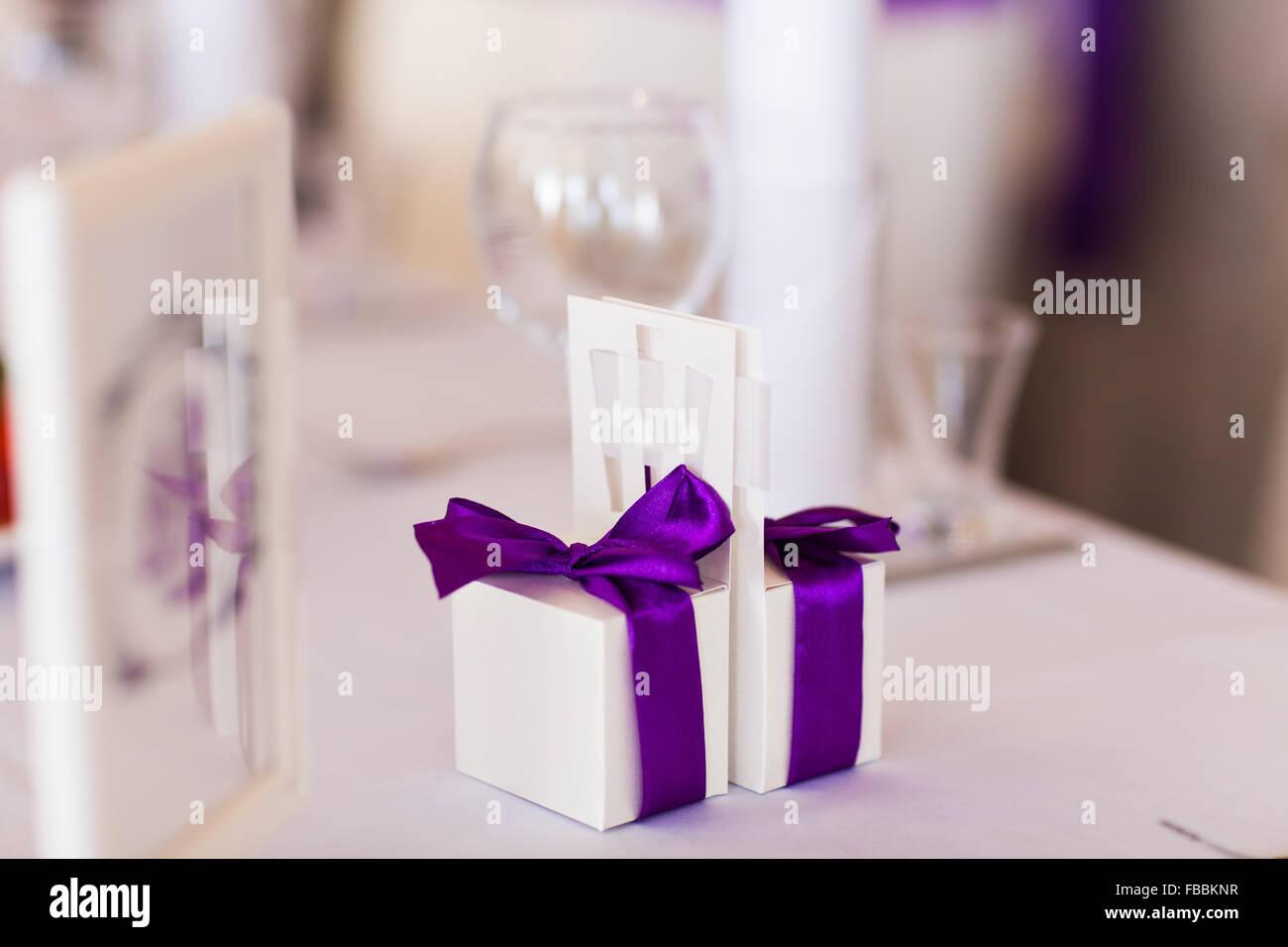 Hochzeitsgeschenk Fur Gaste Stockfoto Bild 93070035 Alamy