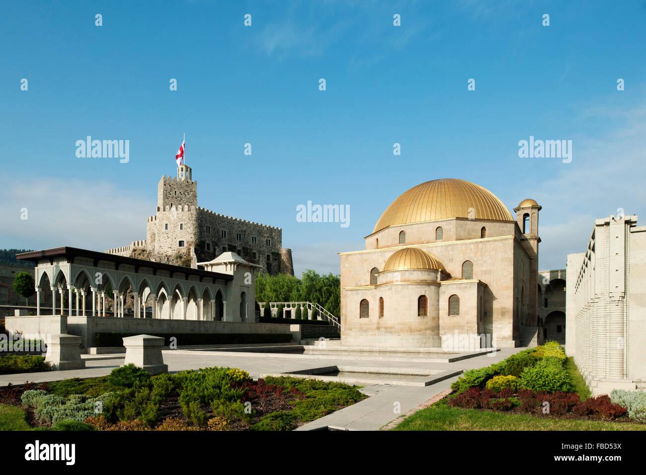 Georgien, Samzche-Dschawacheti, Achalziche, Mittelalterliche Festung Rabat Stockbild
