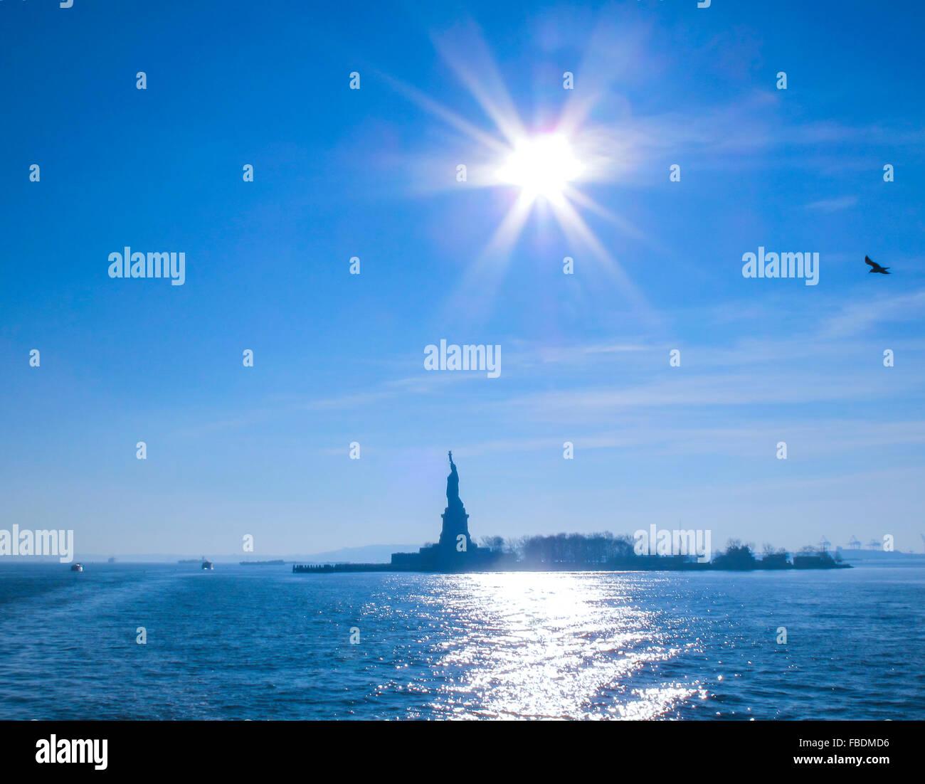 Freiheitsstatue, New York, USA Stockbild