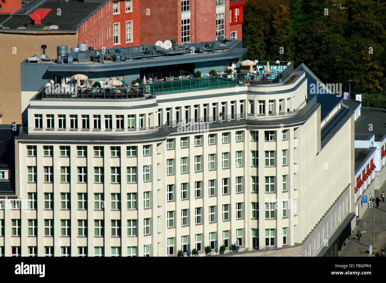 Luftbild Soho House Berlin Mitte Stockfoto Bild 93182184 Alamy