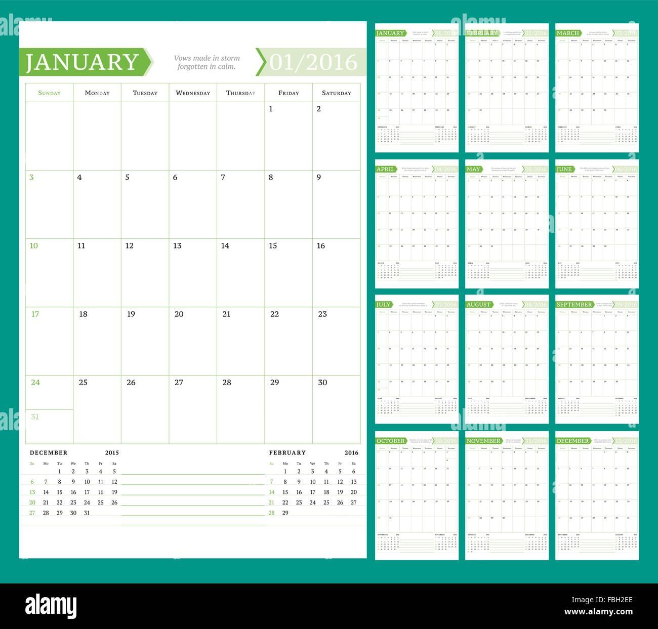 Year Planner Stockfotos & Year Planner Bilder - Alamy