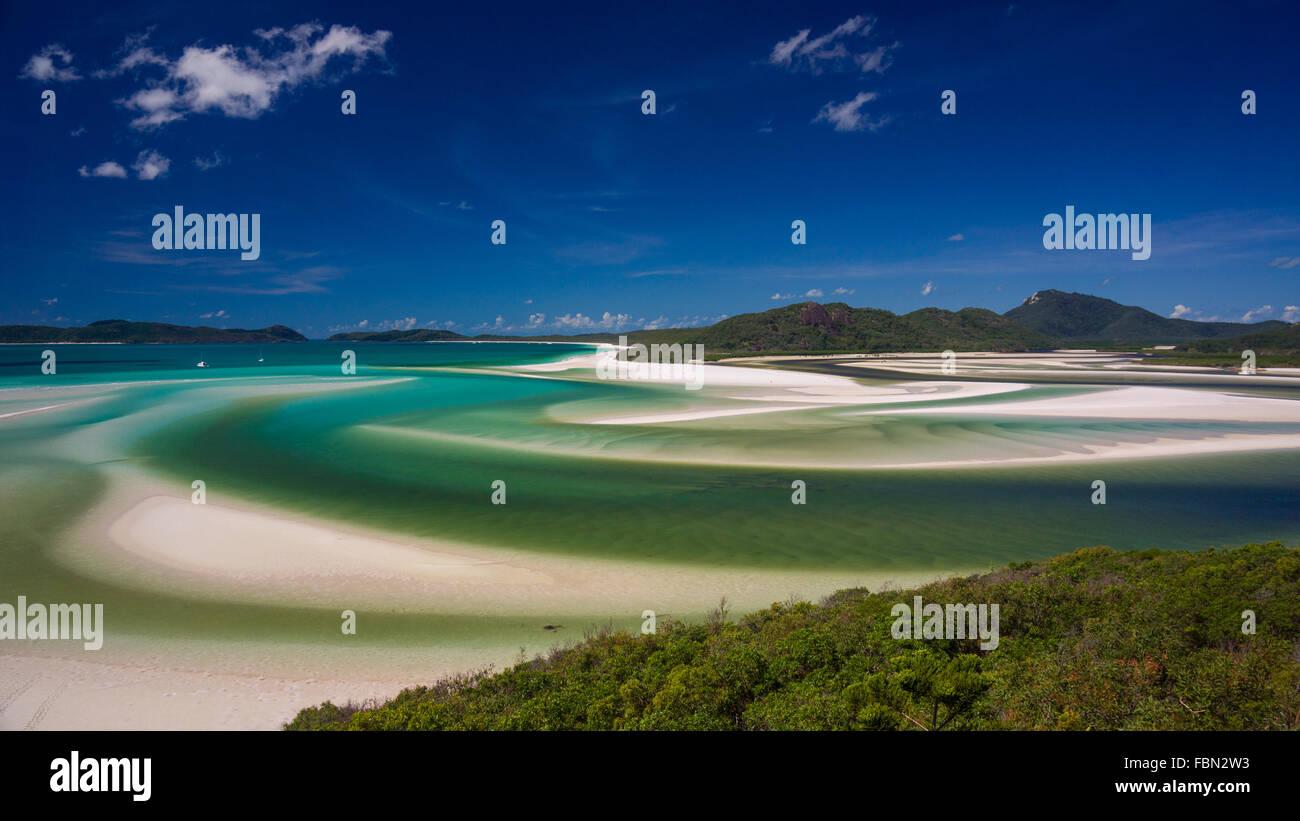 Hill Inlet, Whitsundays Stockfoto