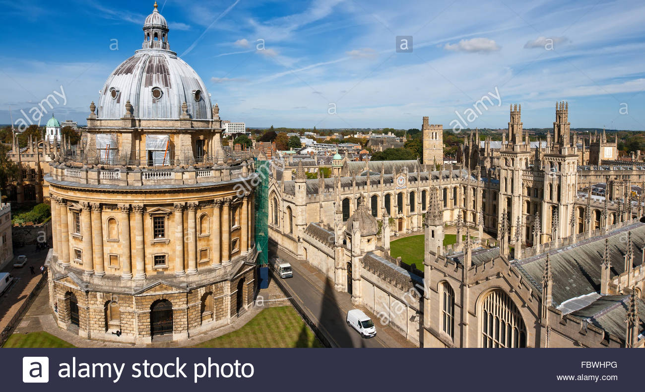 Oxford, England Stockbild